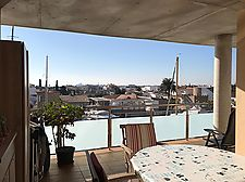 Magnificent apartment with canal and mountain view in Santa Margarita