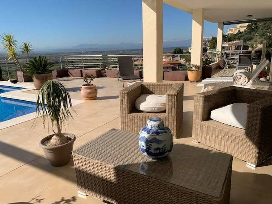 Superb Villa in Can Isaac with a magnificent view of Rosas Bay